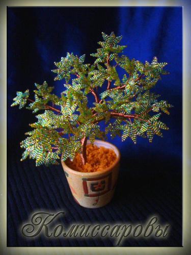 Бисероплетение деревья ива схема - Делаем фенечки своими руками.